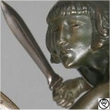 PLF09033-bronze amazone_3